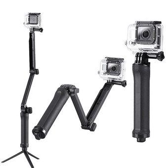 Belanja GoPro 3 Way Grip Arm Tripod for GoPro, Brica B-PRO & Xiaomi Yi Camera - Hitam Murah - Belanja di Lazada. FREE ONGKIR & Bisa COD.