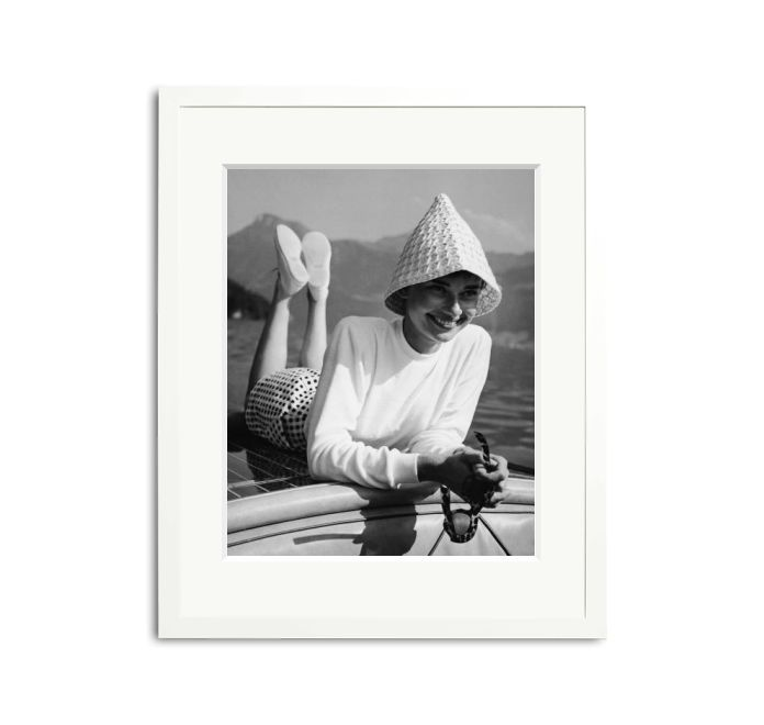 Audrey Hepburn in a hat | Sonic Editions