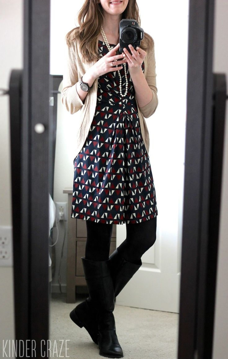 Dear Stitch Fix Stylist, I love the look of the cardigan over the dress. I love layers!