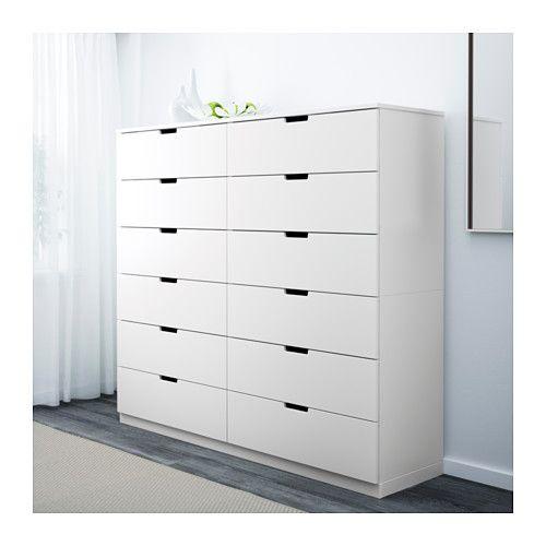 NORDLI 12-drawer chest - IKEA