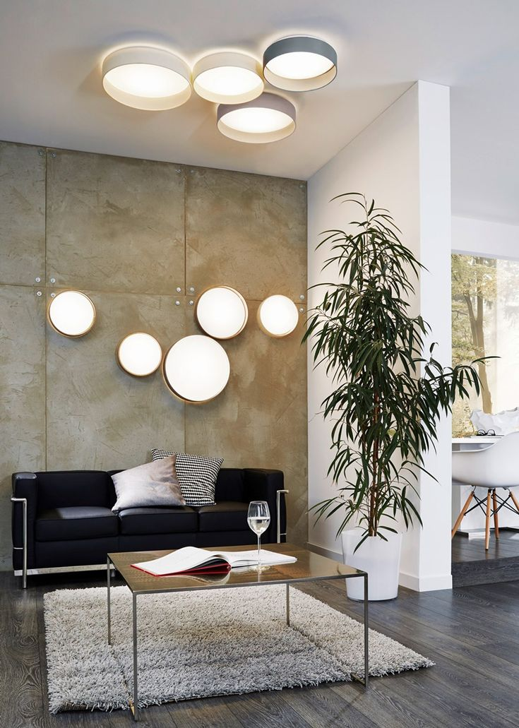 Die besten 25+ Deckenleuchten Ideen auf Pinterest - deckenlampen wohnzimmer led
