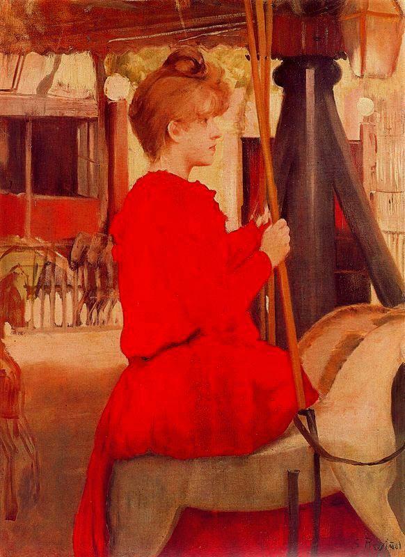 Paintings of Spring: Santiago Rusiñol (25 februarie 1861 – 13 iunie 1931), pictor și scriitor catalan