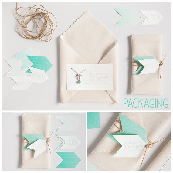 Packaging by As Dreamt in Greyscale on Etsy