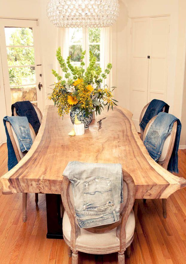 60 Inspiring Live Edge Wooden Furniture