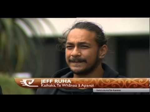 Jeff Ruha - A haka star is born