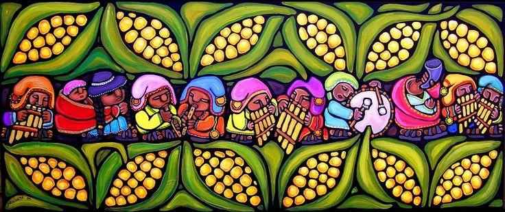 Sikuriada por el maíz