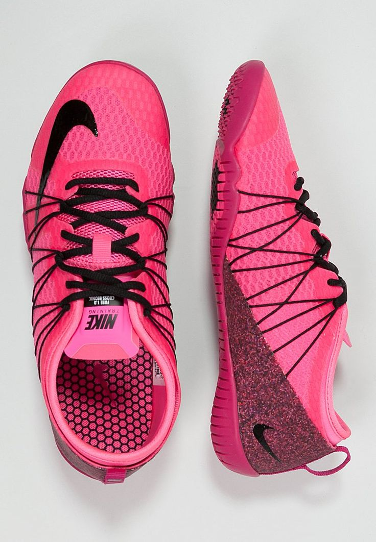 Nike Performance FREE 1.0 CROSS BIONIC 2 - Sportschoenen - pink pow/black/fireberry