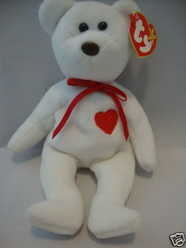 RARE with Tags Ty Valentino Beanie Baby $10K