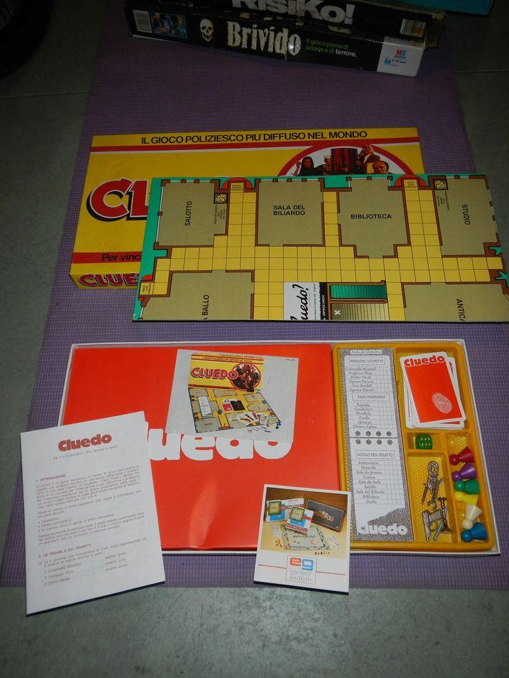 giochi di società anni 80 cluedo