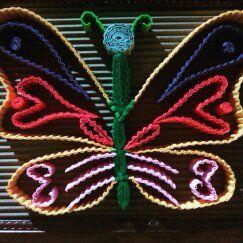 #butterfly #kokoru #papercraft #handmade