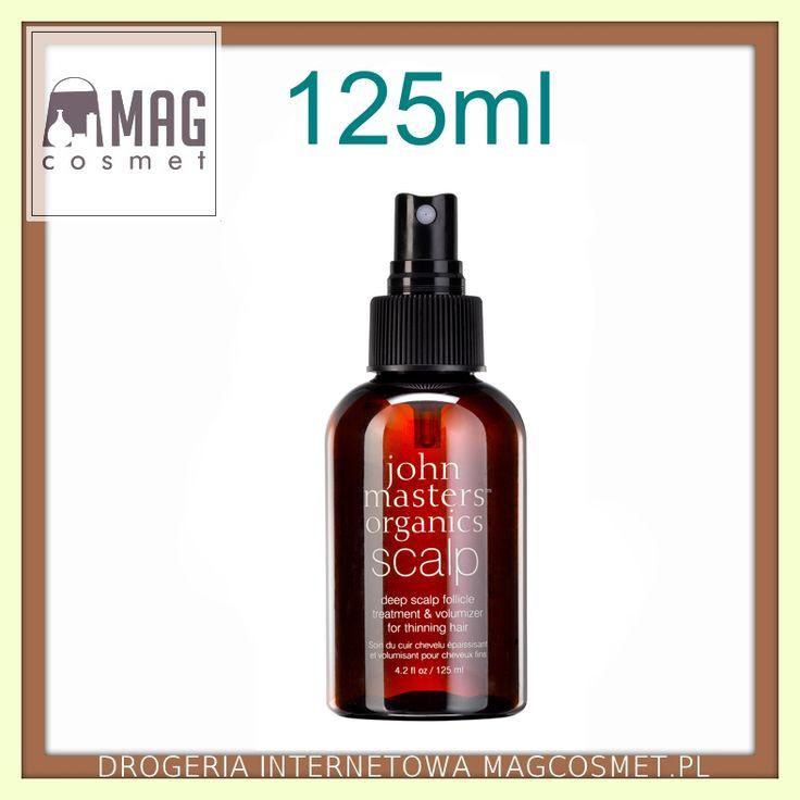 John Masters Scalp Spray Zwiększający Objętość Włosów 125ml - Drogeria Internetowa - Magcosmet