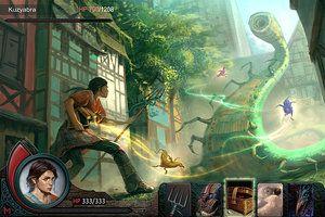UI Battle scene by ~Stefana-Tserk on deviantART