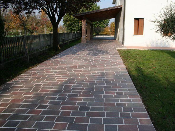 Las 25 mejores ideas sobre patios de concreto estampados - Baldosas para patios ...