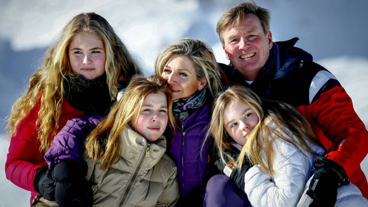 Koninklijke fotosessie Lech: vriendelijk lachen bij -20 graden | NOS