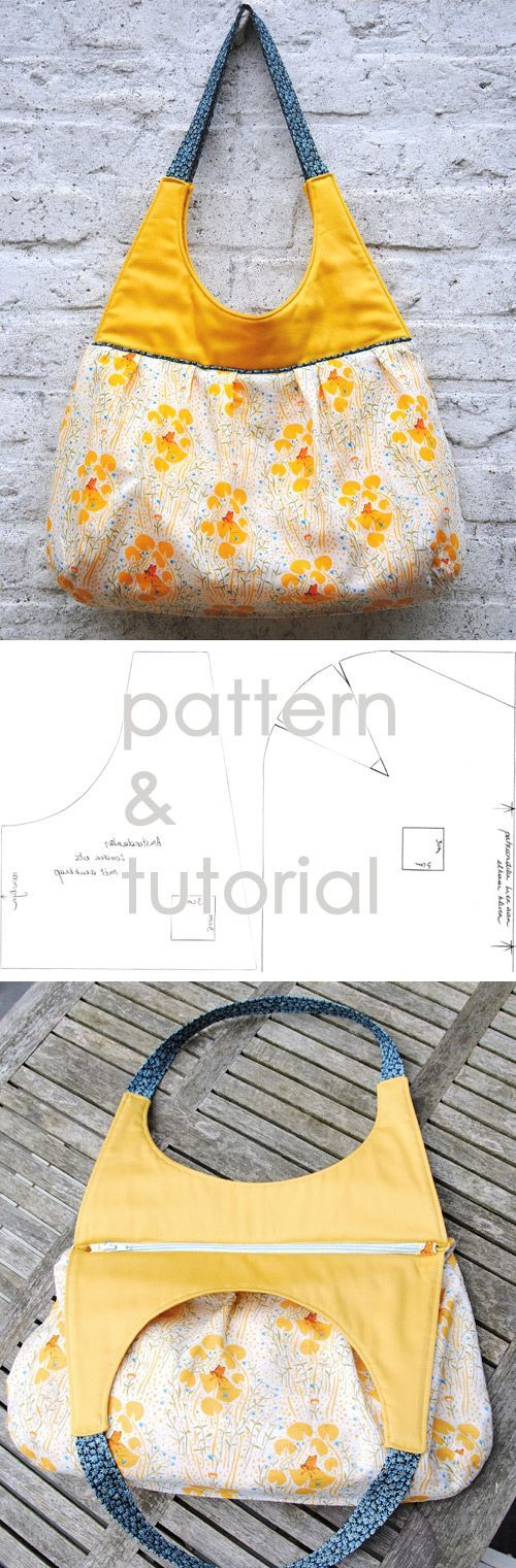 Beautiful Bag Sew Tutorial http://www.free-tutorial.net/2016/12/beautiful-bag-tutorial.html
