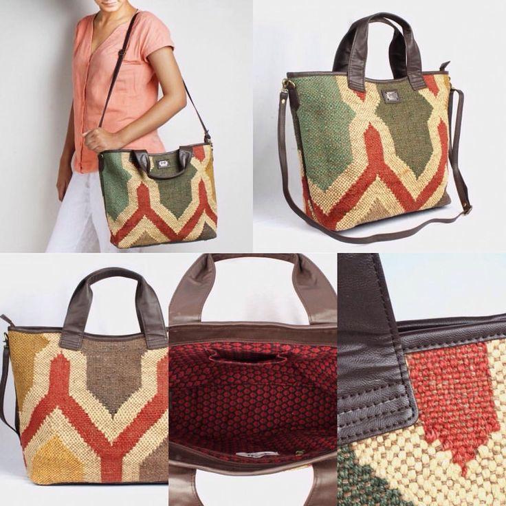 @richadesigns #richa #rajasthan #jaipur #wooljute #woven #craft #motifs #musthave #totebag #traveling #holidaying @tadpolestore #tadpolestore #aztec #bags #byos #boho #colorful #exclusive #oneofakind