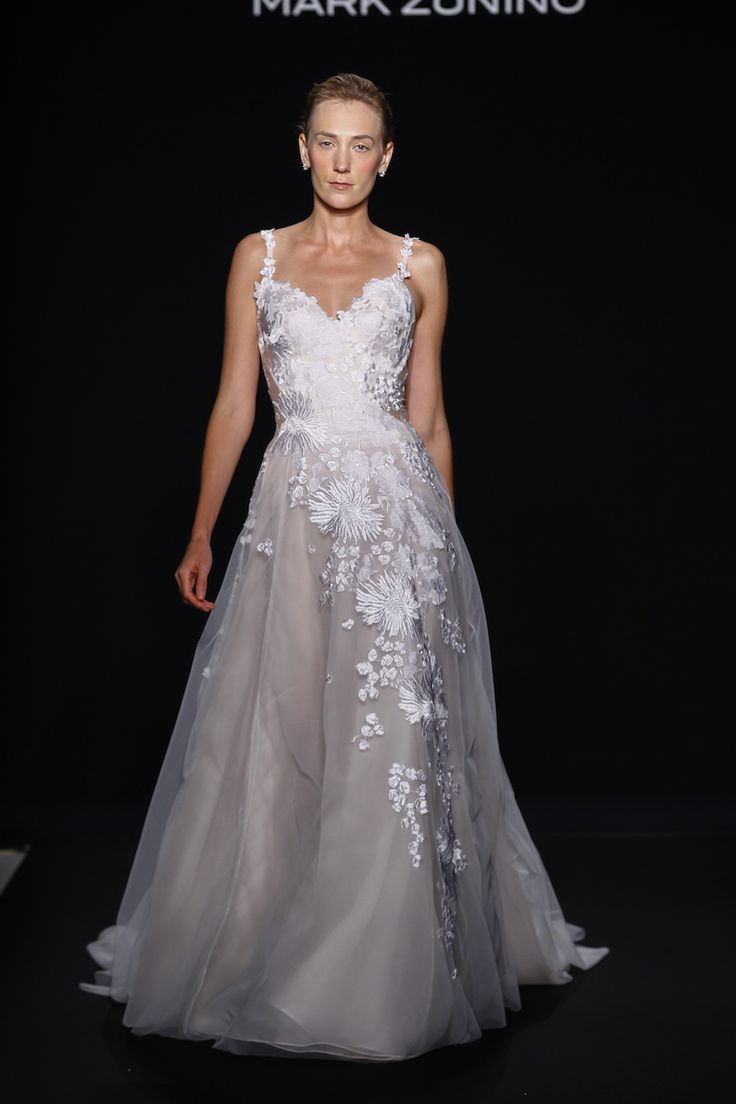 Celebrate individuality with mark zunino for kleinfeld for Kleinfeld wedding dress designers
