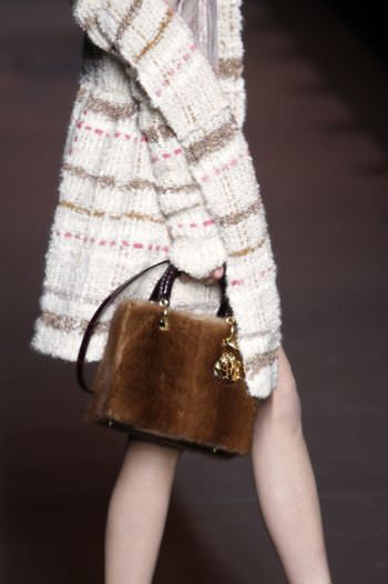 Lady Dior in mink