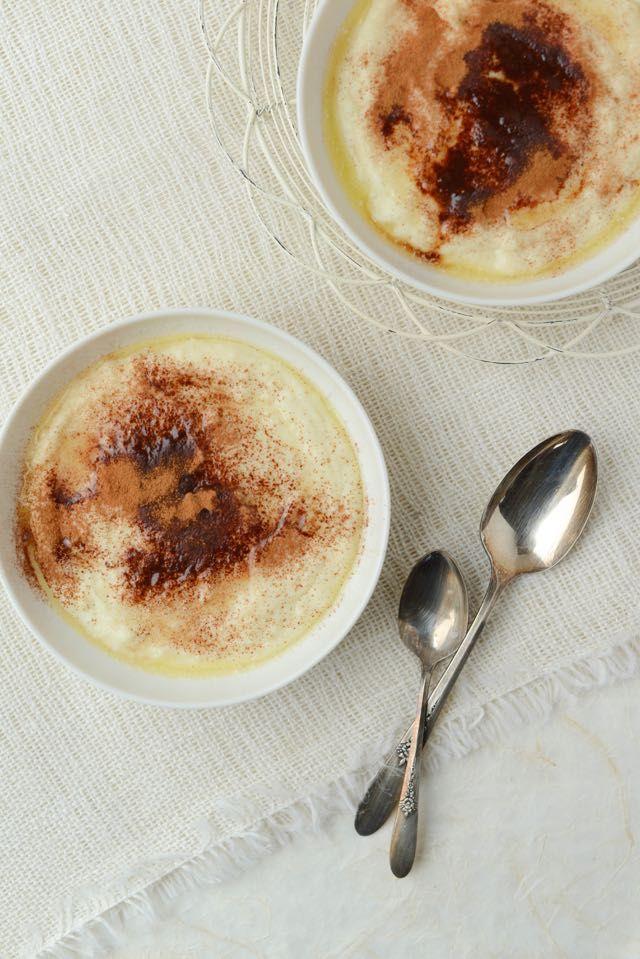 Norwegian Rømmegrøt (Sour Cream Porridge) | From the kitchen of Daytona Strong