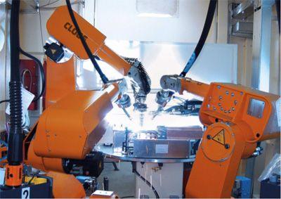 Robcon - Roboti si instalatii pentru sudare