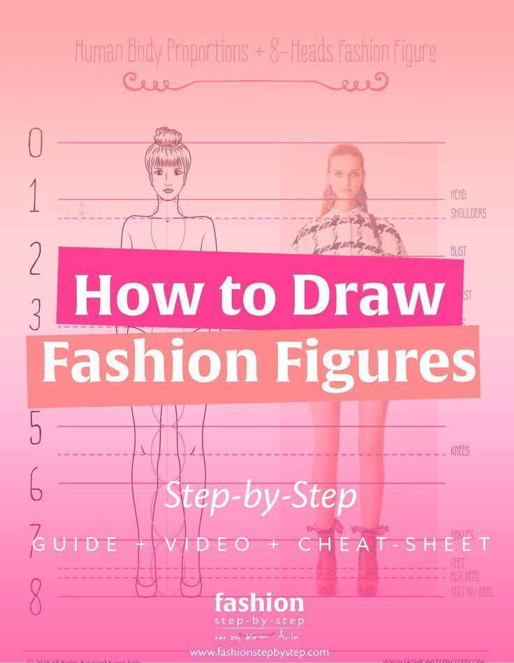how to draw fashion designs step by step