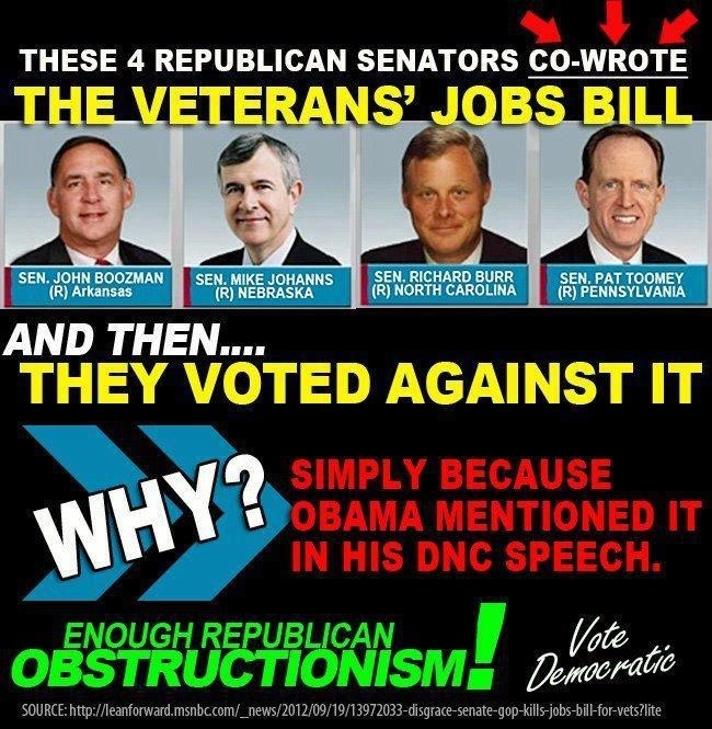 Republican obstructionism...WTF?