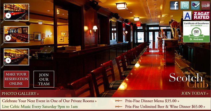St Andrews Restaurant & Bar | Scottish Restaurant & Bar Times Square Restaurants Prix-Fixe Theater Dinner Restaurants