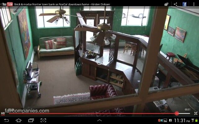 Small town bank turned into an AMAZING loft style apartment!  faircompanies.com