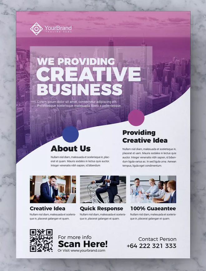 Plantilla de volante de negocios corporativos AI, EPS, PSD. Descargar #business poster Corpor …   – poster