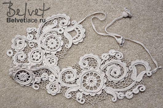 Design & crochet lace by Victoria Belvet