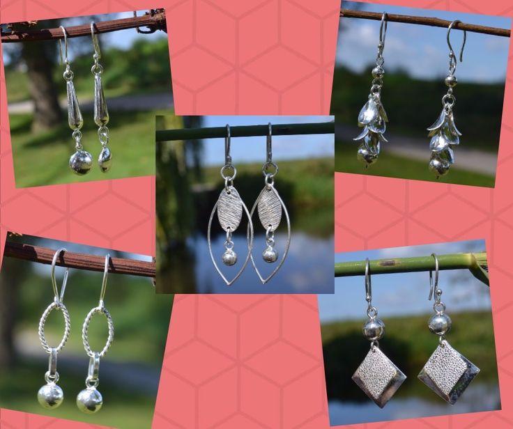Schitterende zilveren oorbellen, Leuk voor jezelf of om cadeau te geven. Gratis verzending binnen NL
