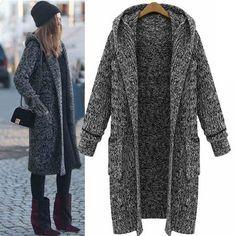 Best 25  Long sweater coat ideas on Pinterest | Belted cardigan ...