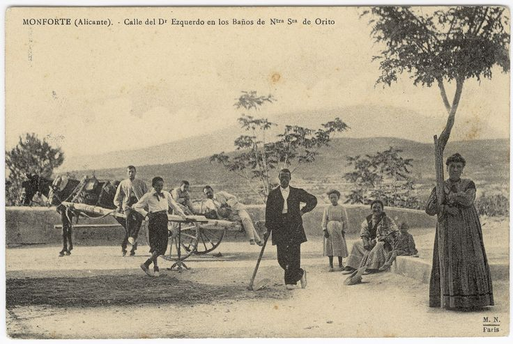 Calle del Dr. Ezquerdo en los Baños de Ntra. Sra. de Orito : Monforte (Alicante). (s.a.) - Anónimo
