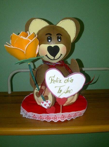 oso y una rosa