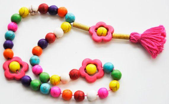Items similar to The Craft Souk - Prayer Dhikr Beads Tasbeeh using Howlite stone Great gift for kids Eid Ramadan Zikr on Etsy