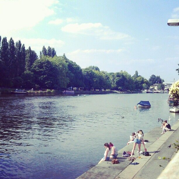 Kingston, London - Photo by yoko_milk • Instagram