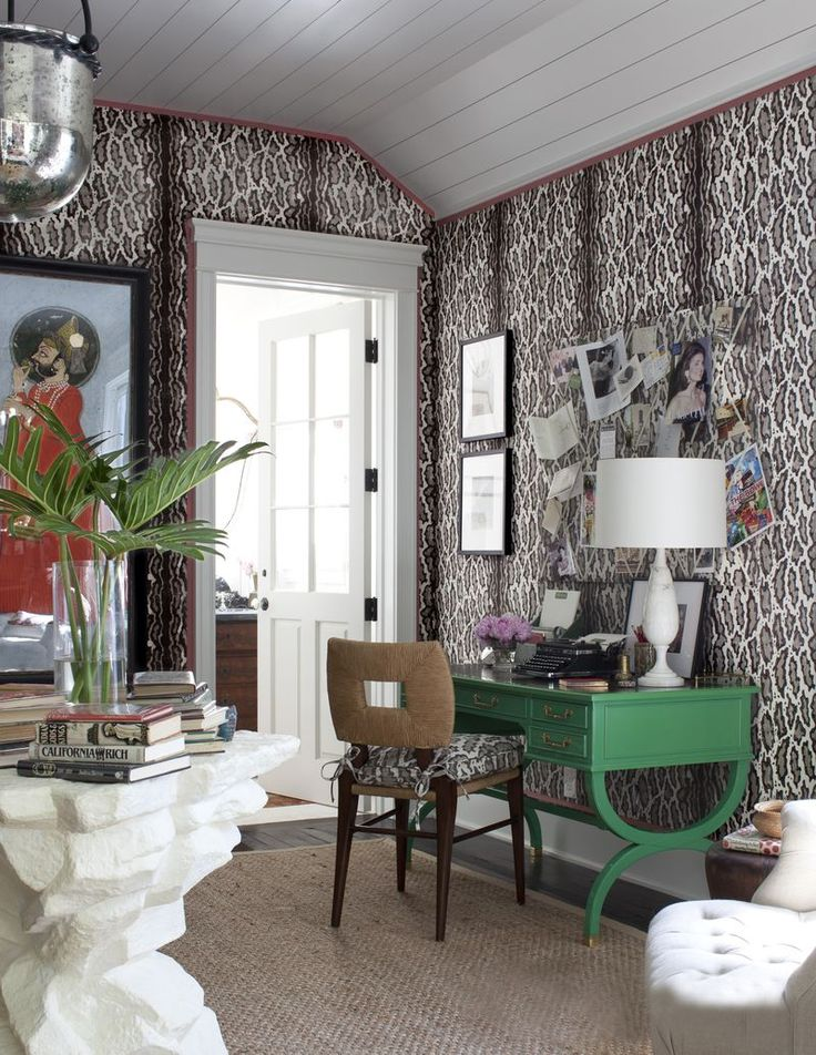 amazing wallpaper, awesome art, gorgeous furniture