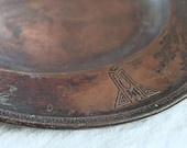 Vintage Craftsman Copper Serving Tray