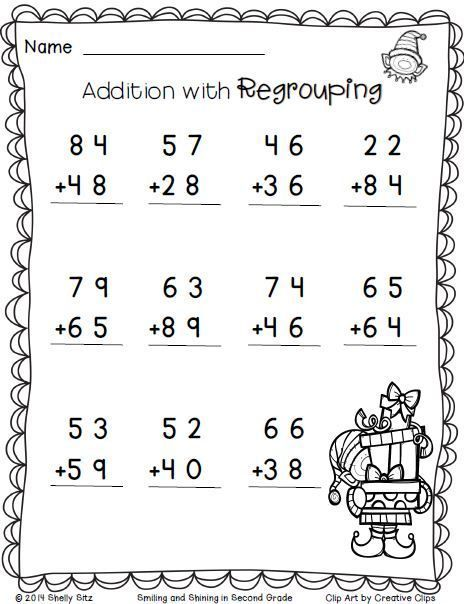 Second Grade Math Sheets to download free | 2nd grade math ...