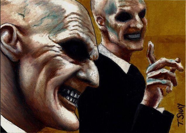The Gentlemen skech card by Dr-Horrible.deviantart.com on @deviantART