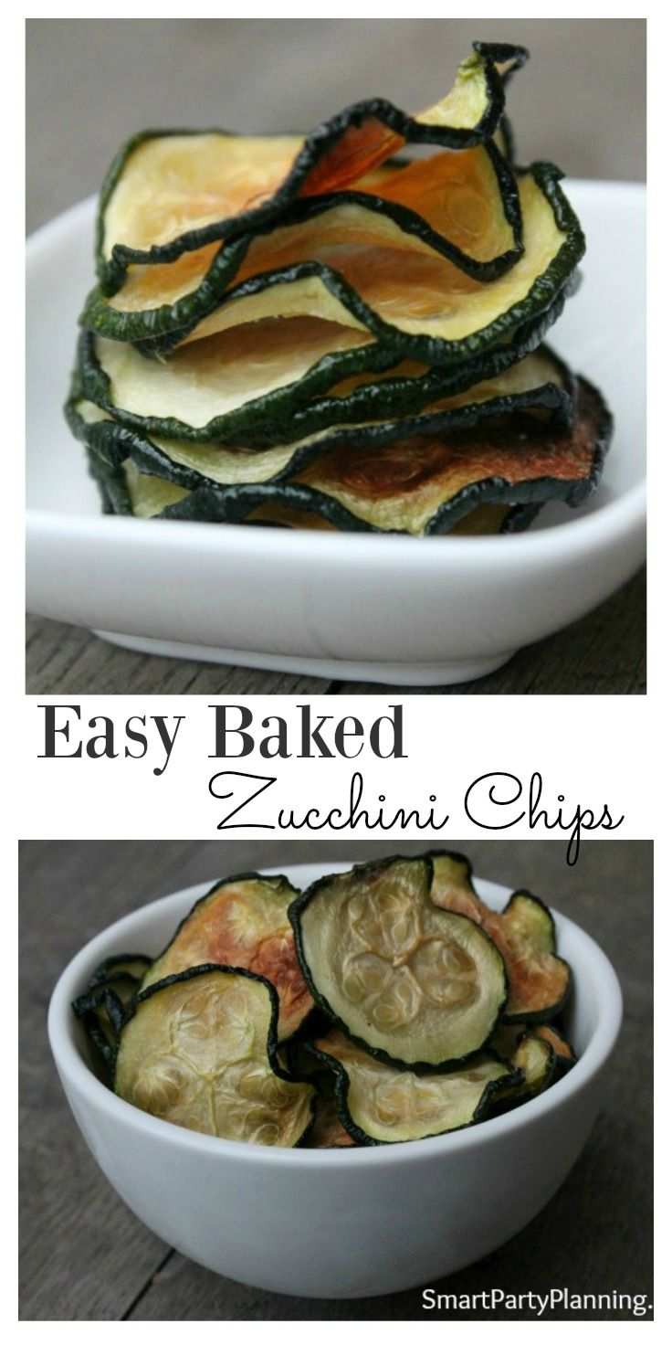 Baked zucchini chips are mouth-watering delicious.  This is an easy 'how to' recipe that you don't want to miss.  Give to the kids, serve at a party or replace your normal tv snacks.  Once you have tried these, you won't want to go back.  They are so easy
