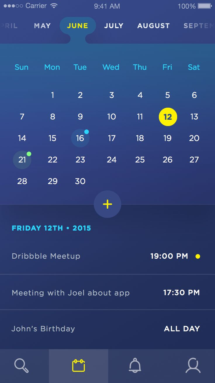 Dribbble - calendar_ui_-_01.jpg by Daniel Klopper