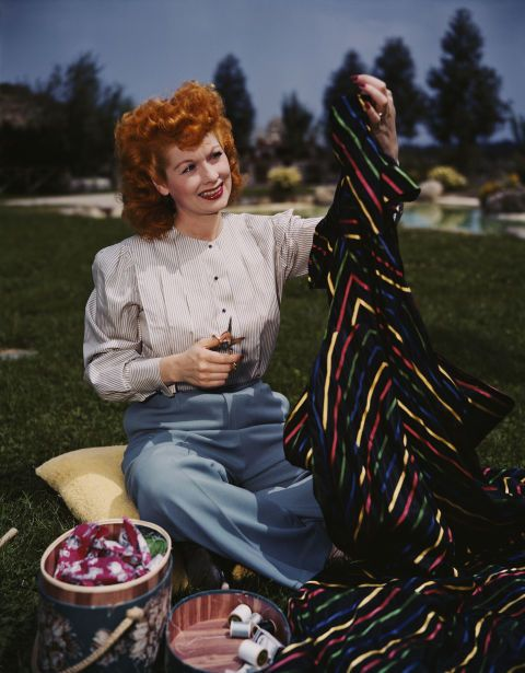 In honor of National 'I Love Lucy' Day.