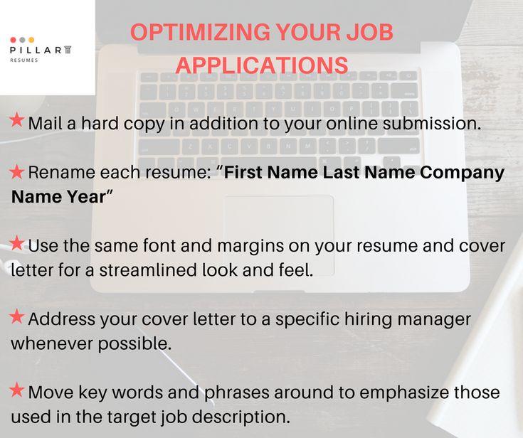 Optimize your job applications! Pillar Resume\u0027s tips for the job