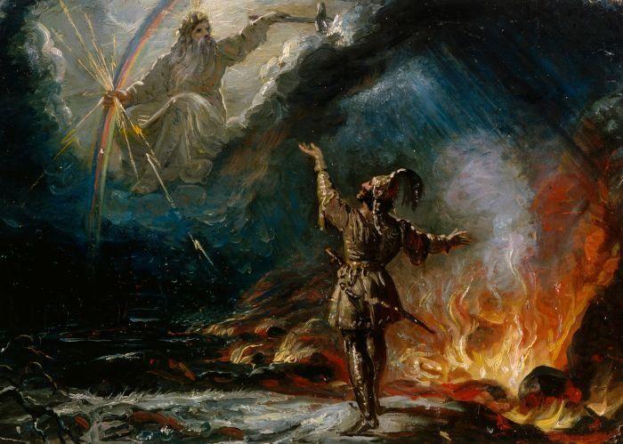 Robert Wilhelm Ekman - DIPINGERE IL KALEVALA || Bifröst | Slavi | Museo ||