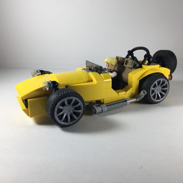 https://flic.kr/p/W3zaDe | Caterham - an approximation, the best that I can. #quickbuild #legomoc #caterham #lego