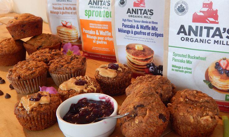 Anita's Organic Pancake Mix Muffins | Anita's Organic Mill