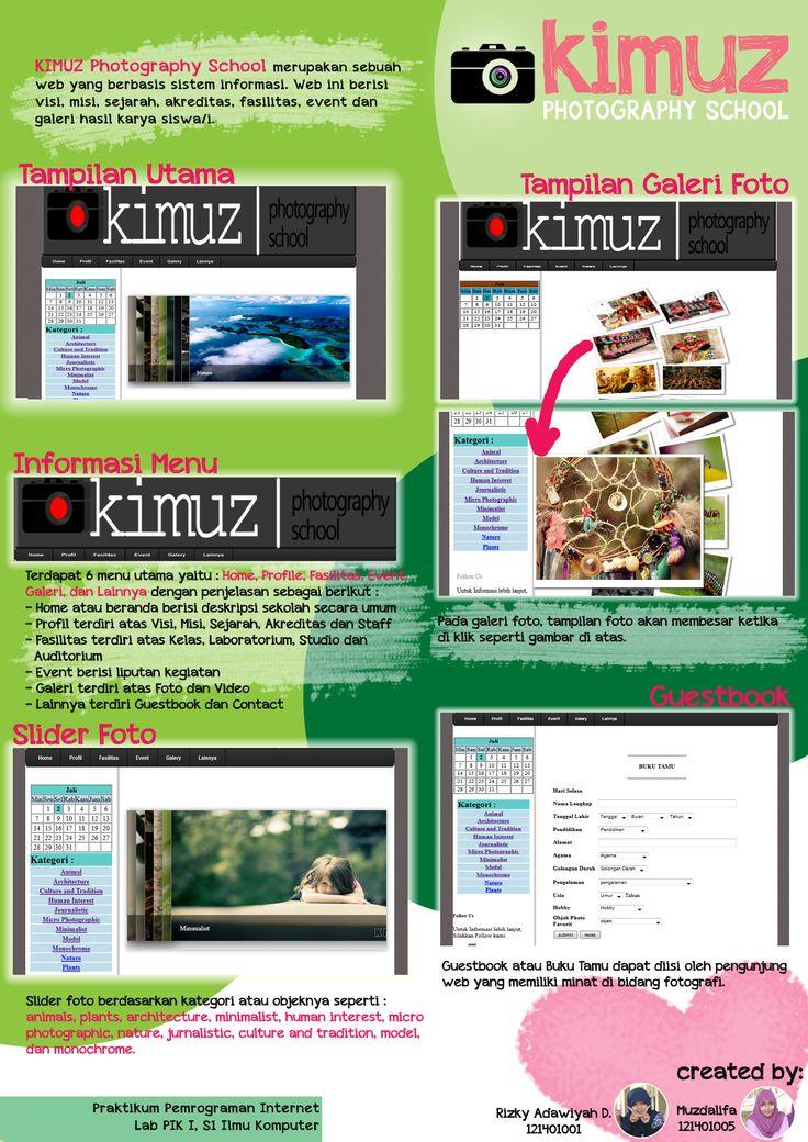 poster tugas : praktikum pemograman internet. kimuz. oh,please -_-