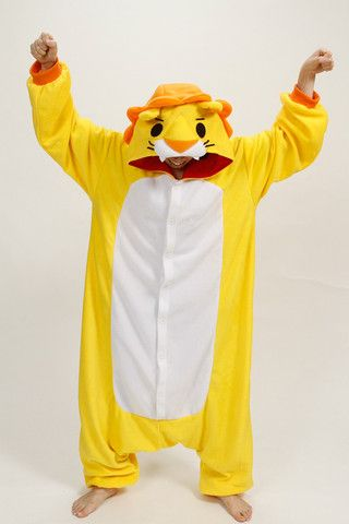 ROAR! awesome Lion kigurumi onesie!