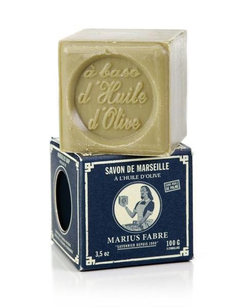 Marseilles Green Soap Bar in Paper Box (100g)